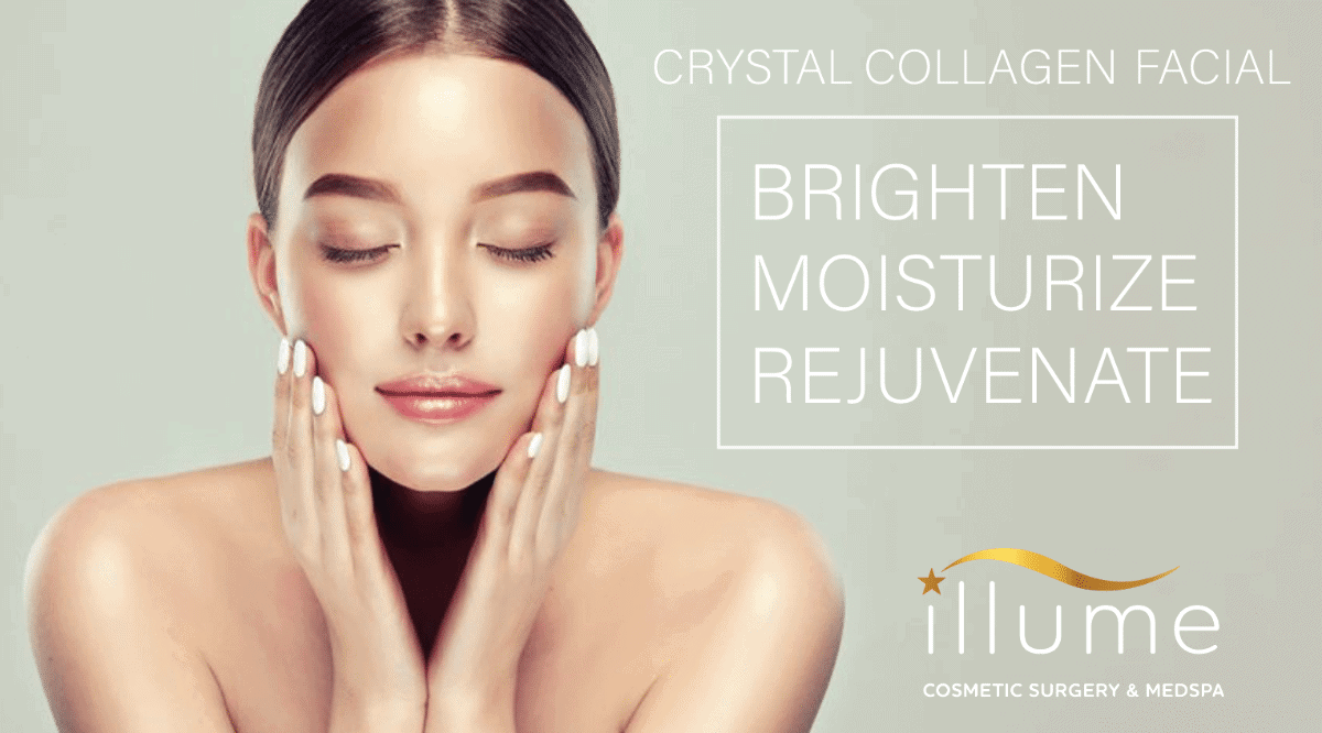 Brighten, Moisturize and Rejuvenate with our Crystal Collagen Facial!