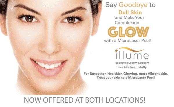Make Your Complexion GLOW with MicroLaser Peel